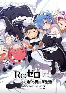 Rating: Safe Score: 50 Tags: chibi cleavage digital_version maid ogipote ram_(re_zero) re_zero_kara_hajimeru_isekai_seikatsu rem_(re_zero) User: kiyoe