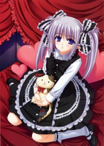 Rating: Safe Score: 44 Tags: dress gothic_lolita lolita_fashion nishimata_aoi pointy_ears primula shuffle User: admin2