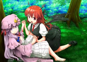 Rating: Safe Score: 14 Tags: koakuma patchouli_knowledge shina_excel touhou User: Mr_GT