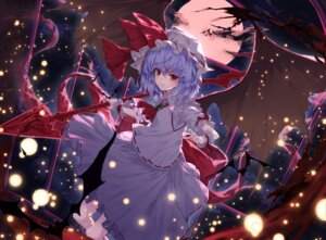 Rating: Safe Score: 32 Tags: lo-ta remilia_scarlet touhou weapon wings User: RyuZU