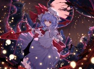 Rating: Safe Score: 30 Tags: lo-ta remilia_scarlet touhou weapon wings User: RyuZU