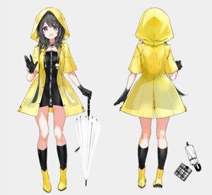 Rating: Safe Score: 42 Tags: amagasaki_eko character_design dress tiv umbrella User: zyll