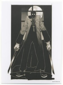 Rating: Safe Score: 6 Tags: alexander_anderson hellsing hirano_kouta male monochrome User: Radioactive