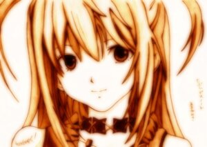 Rating: Safe Score: 9 Tags: amane_misa death_note godees monochrome sketch User: charunetra