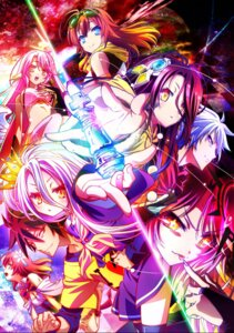 Rating: Safe Score: 47 Tags: jibril_(no_game_no_life) no_game_no_life shiro_(no_game_no_life) shuvi_(no_game_no_life) sora_(no_game_no_life) stephanie_dora tagme thighhighs User: kiyoe
