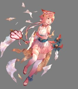 Rating: Safe Score: 22 Tags: animal_ears fire_emblem fire_emblem_heroes fire_emblem_if fuzichoko japanese_clothes nintendo sakura_(fire_emblem) thighhighs torn_clothes transparent_png User: Radioactive