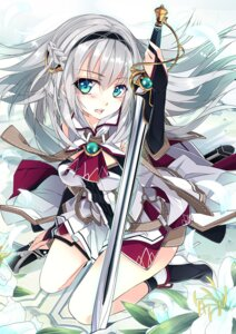 Rating: Safe Score: 52 Tags: shirokitsune sword User: fairyren
