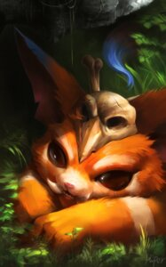 Rating: Safe Score: 15 Tags: autographed gnar korhiper league_of_legends monster User: charunetra