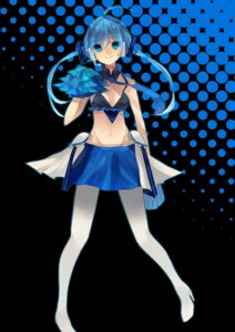 Rating: Safe Score: 20 Tags: aoki_lapis cheerleader vocaloid yuzuno_asa User: charunetra