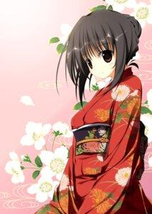 Rating: Safe Score: 36 Tags: hirokazu_kine kimono User: Nekotsúh