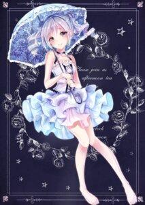 Rating: Safe Score: 38 Tags: dress kanzaki_ranko kazuko_(pixiv13581460) the_idolm@ster the_idolm@ster_cinderella_girls umbrella User: saemonnokami