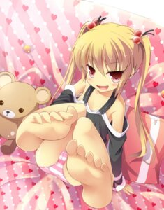 Rating: Questionable Score: 88 Tags: cameltoe feet loli masaki_(machisora) pantsu shimapan User: 椎名深夏
