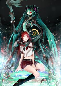 Rating: Safe Score: 5 Tags: calne_ca hatsune_miku honya1 seifuku vocaloid User: demon2