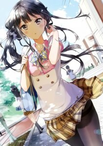 Rating: Safe Score: 176 Tags: adagaki_aki detexted masamune-kun_no_revenge pantyhose photoshop seifuku skirt_lift tiv User: leechunkeat