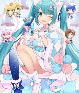Rating: Safe Score: 25 Tags: chibi hatsune_miku headphones magical_mirai skirt_lift thighhighs vocaloid yuni_(irohasuiroiro) User: Munchau