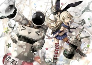 Rating: Safe Score: 49 Tags: kantai_collection rensouhou-chan shimakaze_(kancolle) shino_(eefy) thighhighs User: fairyren