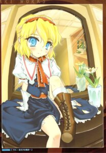 Rating: Safe Score: 3 Tags: alice_margatroid chiriakuta touhou yaburebouki_akuta User: Radioactive