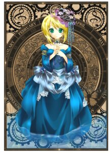 Rating: Safe Score: 17 Tags: dress kagamine_rin vocaloid yuuki_kira User: charunetra