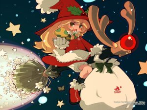 Rating: Safe Score: 6 Tags: bloomers christmas kirisame_marisa mota touhou wallpaper User: Radioactive
