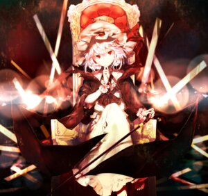 Rating: Safe Score: 31 Tags: remilia_scarlet sakusyo touhou wings User: Nepcoheart