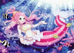 Rating: Safe Score: 57 Tags: cleavage mermaid one_piece shirahoshi w.label wasabi_(artist) User: yong