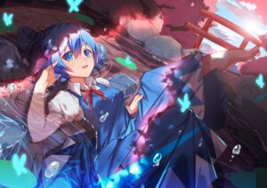 Rating: Safe Score: 35 Tags: cirno sora_(zwz030) touhou wet User: Nepcoheart