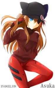 Rating: Safe Score: 17 Tags: akane_miu bodysuit eyepatch neon_genesis_evangelion souryuu_asuka_langley User: 椎名深夏