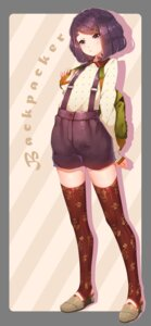 Rating: Safe Score: 28 Tags: hoko_sakuran thighhighs User: Mr_GT