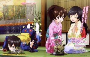 Rating: Safe Score: 31 Tags: girls_und_panzer isuzu_hana kawashima_momo kimono koyama_yuzu megane yoshida_nobuyoshi User: drop