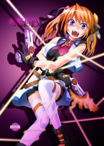 Rating: Safe Score: 7 Tags: kougyoku kurodamaya mahou_shoujo_lyrical_nanoha mahou_shoujo_lyrical_nanoha_strikers teana_lanster thighhighs User: Radioactive