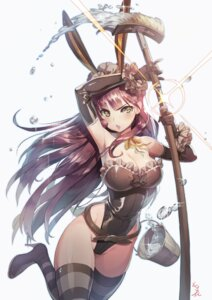 Rating: Safe Score: 73 Tags: animal_ears bunny_ears bunny_girl cleavage heels kakiman sword thighhighs User: Mr_GT