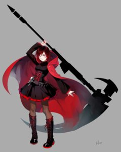 Rating: Safe Score: 31 Tags: einlee pantyhose ruby_rose rwby weapon User: animeprincess