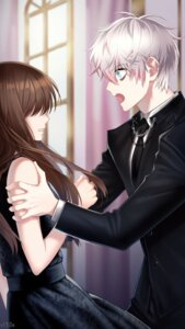 Rating: Safe Score: 8 Tags: business_suit dress game_cg mystic_messenger saeran_choi User: charunetra