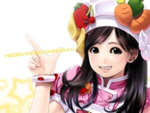 Rating: Safe Score: 9 Tags: cookin'_idol_ai!_mai!_main! fukuhara_haruka hiiragi_main sumomo_kpa wallpaper User: frankmouse