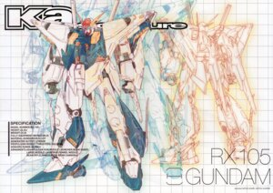 Rating: Safe Score: 11 Tags: crease gundam gundam_hathaway's_flash katoki_hajime mecha User: Rid