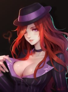 Rating: Safe Score: 36 Tags: cleavage league_of_legends miss_fortune no_bra scarlet_moon User: charunetra