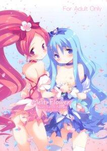 Rating: Questionable Score: 40 Tags: ass hanasaki_tsubomi heartcatch_pretty_cure! houenken inase_shinya kurumi_erika loli nipples no_bra nopan pretty_cure thighhighs torn_clothes User: fireattack