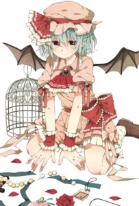 Rating: Safe Score: 15 Tags: henki_(orange) remilia_scarlet touhou wings User: Radioactive