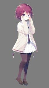 Rating: Safe Score: 36 Tags: isawa_kou megane onsen_musume pantyhose seifuku shiratama sweater transparent_png User: saemonnokami