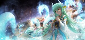 Rating: Safe Score: 22 Tags: boyogo fate/grand_order horns japanese_clothes kiyohime_(fate/grand_order) User: Mr_GT