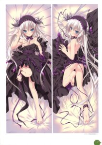 Rating: Questionable Score: 106 Tags: 11eyes breasts chikotam dakimakura dress feet gothic_lolita lieselotte_werckmeister loli lolita_fashion nipples nopan User: crim