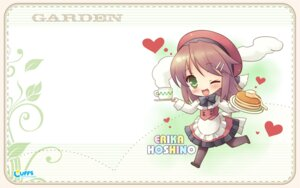 Rating: Safe Score: 14 Tags: cuffs garden hoshino_erika kanekiyo_miwa pantyhose waitress wallpaper User: fireattack