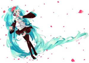 Rating: Safe Score: 14 Tags: amazawa_koma hatsune_miku jpeg_artifacts thighhighs vocaloid User: Radioactive