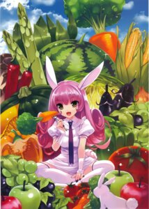 Rating: Safe Score: 41 Tags: animal_ears bunny_ears cropped kuroya_shinobu pantsu thighhighs User: fairyren