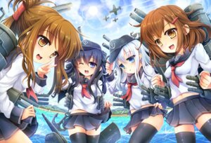 Rating: Safe Score: 34 Tags: akatsuki_(kancolle) goushou hibiki_(kancolle) ikazuchi_(kancolle) inazuma_(kancolle) kantai_collection thighhighs User: blooregardo