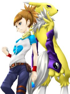 Rating: Safe Score: 8 Tags: digimon digimon_tamers makino_ruki nitto renamon User: krazy-kun