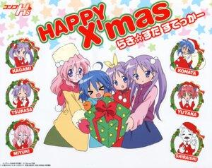 Rating: Safe Score: 9 Tags: christmas hiiragi_kagami hiiragi_tsukasa izumi_konata kobayakawa_yutaka lucky_star shiraishi_minoru takara_miyuki yamada_naoko User: vita