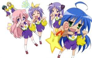 Rating: Safe Score: 13 Tags: cheerleader hiiragi_kagami hiiragi_tsukasa izumi_konata kuroi_nanako lucky_star narumi_yui takara_miyuki takemoto_yasuhiro User: Elow69