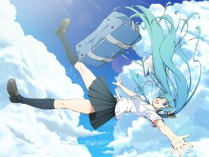 Rating: Safe Score: 25 Tags: azuma_syoujuan hatsune_miku headphones seifuku vocaloid User: Radioactive