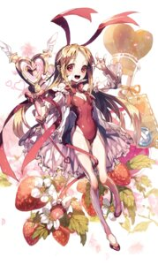 Rating: Safe Score: 28 Tags: animal_ears bunny_ears bunny_girl cleavage disgaea flonne ser323 weapon User: Zenex
